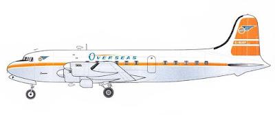 Canadair DC-4M-4 Argonaut in Overseas Airways Livery