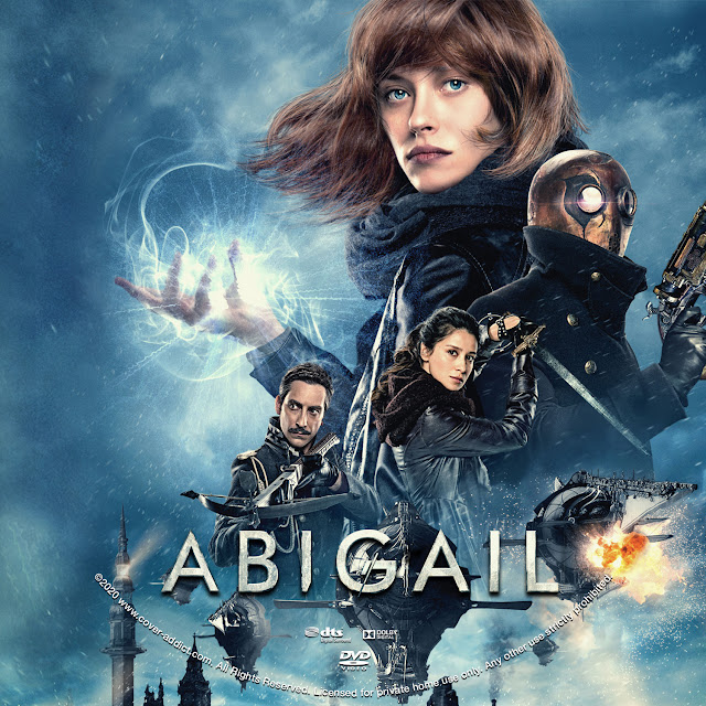 Abigail DVD Label