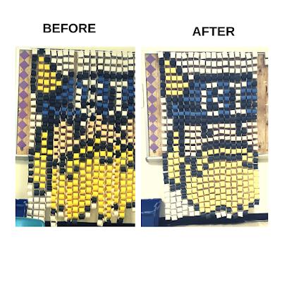 paper chain pixel art