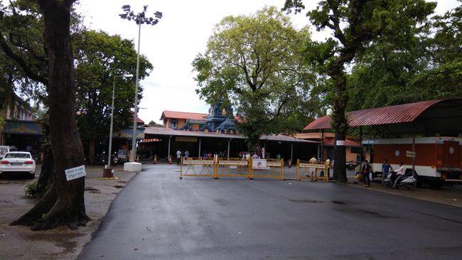 View Of Anegudde Vinayaka Temple