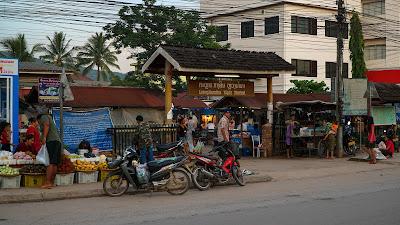 Luang Namtha's night market