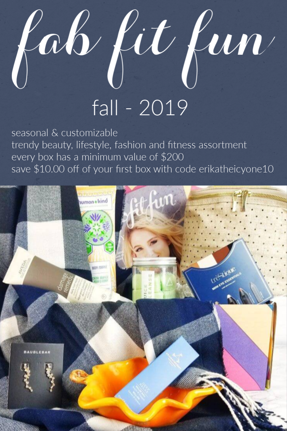 Check out My Very First Fab Fit Fun Seasonal Subscription Box for Fall - 2019 2