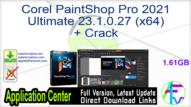 Corel PaintShop Pro 2021 Ultimate 23.1.0.27 (x64) + Crack