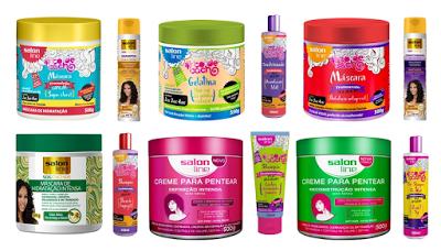 Outros produtos Salon Line indicados para transição capilar