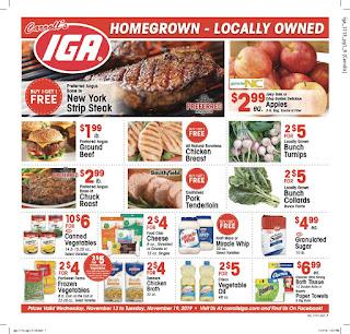 ⭐ IGA Ad 12/11/19 ⭐ IGA Weekly Ad December 11 2019