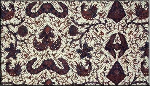 Motif Wahyu Temurun khas Yogyakarta