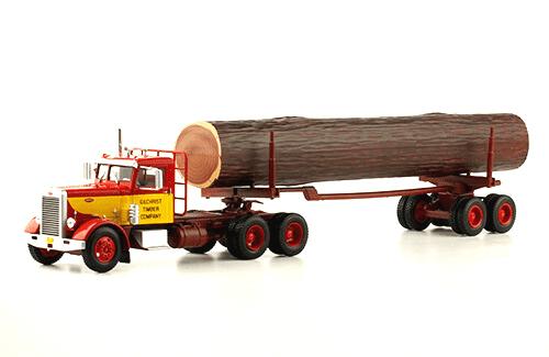 Peterbilt 281 1:43 gilchrist timber company, camiones 1/43, camiones americanos 1:43, coleccion camiones americanos 1:43, camiones americanos 1/43 altaya españa