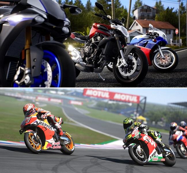 Comparison of Ride 4 vs MotoGP 21 in Career Mode