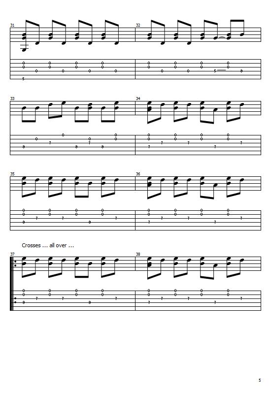 Crosses Tabs José González. How To Play Crosses On Guitar/ José González Crosses Free Tabs / José González Sheet Music. José González- Crosses
