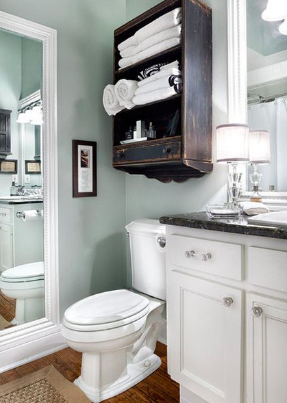 BATHROOM STORAGE IDEAS TO GETTING CLUTTER AWAY