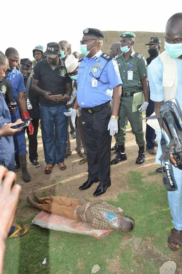Police Exhumed Body Of A 5-Year-Old Boy Kidnapped, Killed And Buried By His 19-Year-Old Uncle