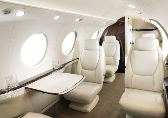 Cessna Denali interior