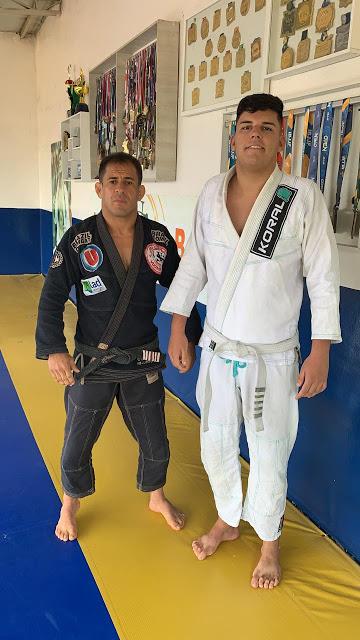 Vugner Silva busca mais um título no Rio de Janeiro e leva promessa do Jiu-Jitsu bonfinense