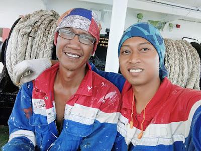 Doc. With Pak Boss - Bosun Suryadi (Boatswain)