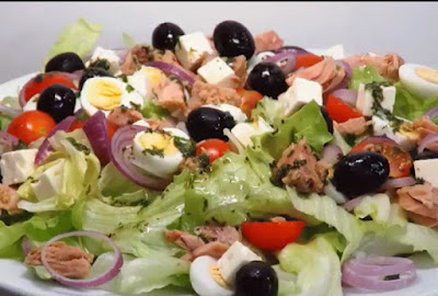 Греческий салат картинка