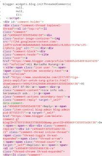 Cara menghapus brokenlink diblog