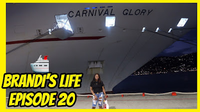 Brandi's Life: Episode 20- Boarding the Carnival Glory| PrettyPRChickTV