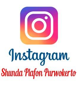 Instagram Shunda Plafon Purwokerto