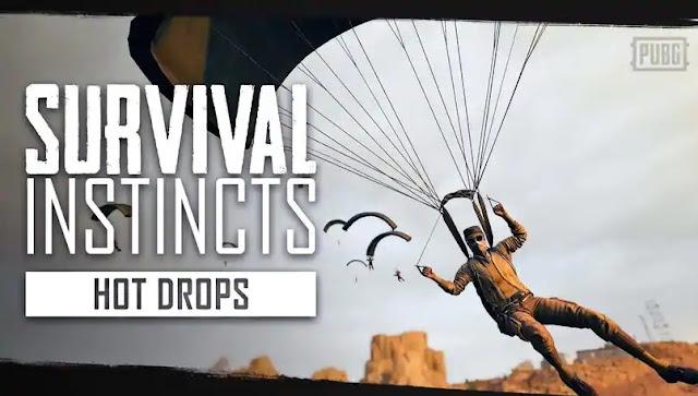 PUBG, Hot Drops ipuçlarıyla yeni Survival Instincts bölümünü yayınladı