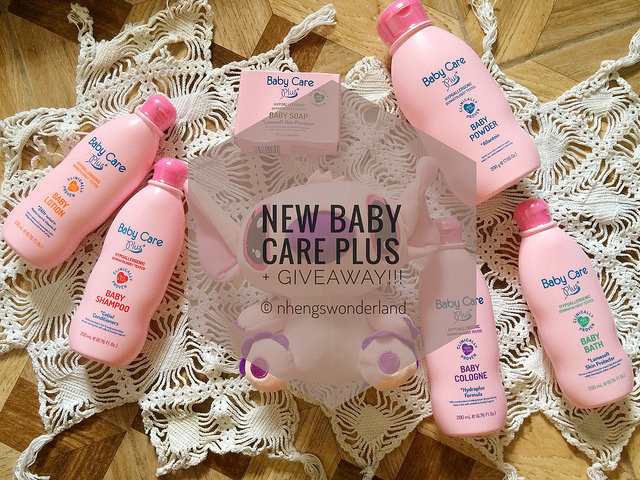 Introducing New Baby Care Plus Pink + GIVEAWAY!