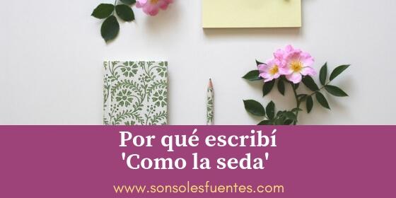 Entrevista a Sonsoles Fuentes, autora de la novela sobre segundas esposas Como la seda