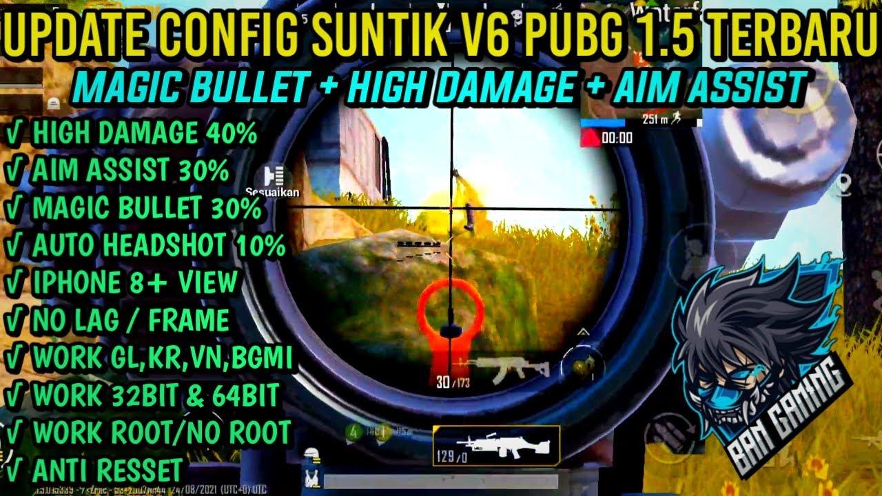 Config Suntik PUBG 1.5 Terbaru