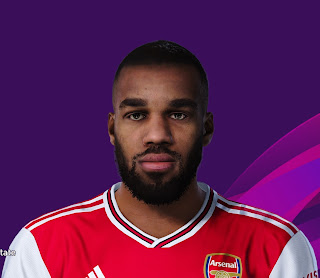 PES 2020 Faces Alexandre Lacazette by Davidjm08