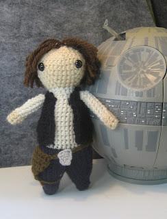 Free Star Wars Crochet Patterns han solo amigurumi