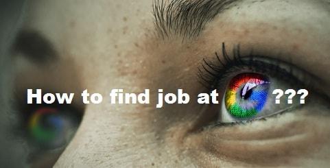 Google मे जॉब कैसे पाएं ? (Full Info)