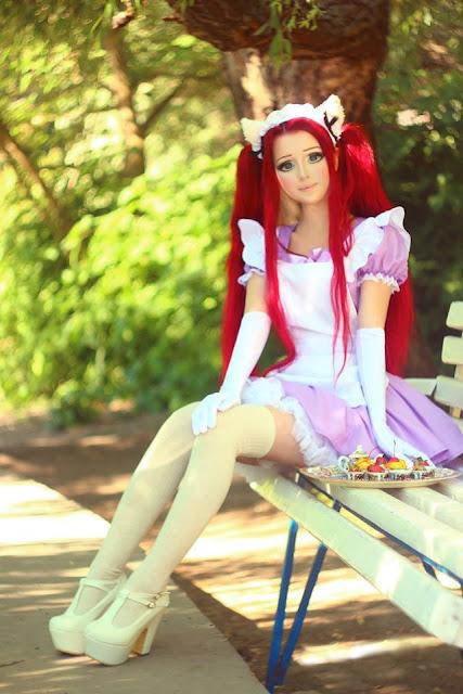 10 Photos Of Real Life Anime Girl Will Blow Your Mind Anastasiya