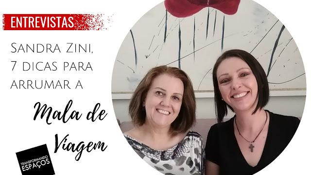 7 dicas para arrumar sua mala de viagem | Entrevista com Sandra Zini