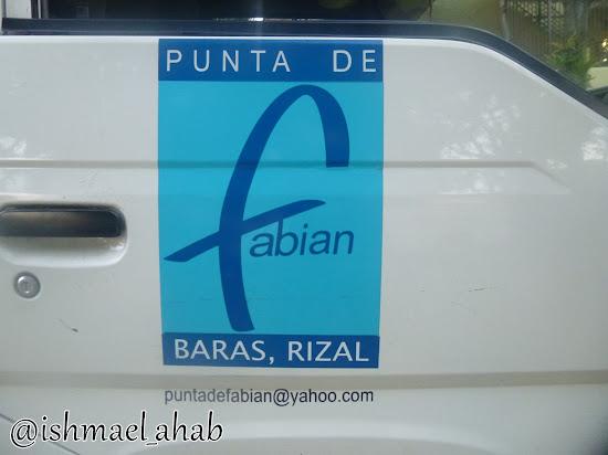 Punta de Fabian in Baras, Rizal