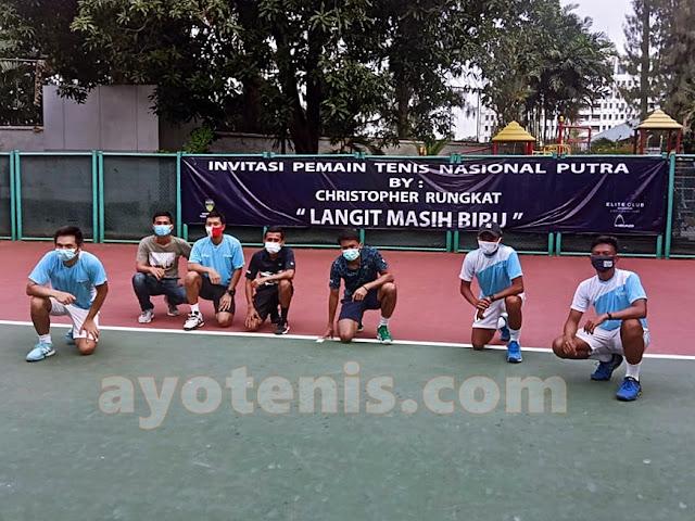 Berprestasi Diajang Invitasi Petenis Putra Peringkat Nasional, Gunawan Buktikan Diri Layak Masuk Skuad Davis Cup