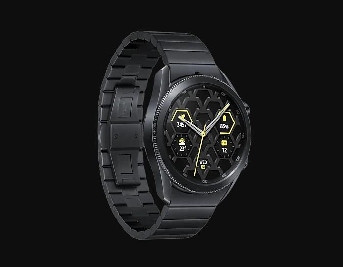 Samsung Galaxy Watch3 Titanium Classy Design