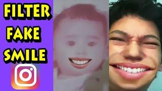Fiter Fake Smile Instagram dan Tiktok atau Senyum Palsu