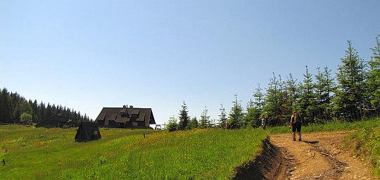 Schronisko PTTK na Starych Wierchach (980 m n.p.m.).