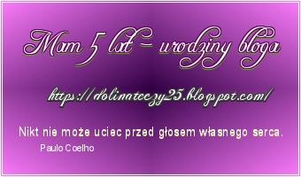 Candy na urodziny bloga Dolina Tęczy