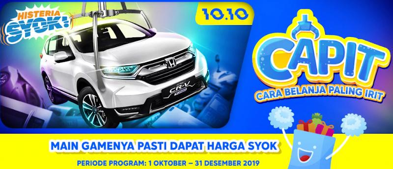 Tebus Murah Honda CRV Diskon 90% Di Harbolnas Blibli