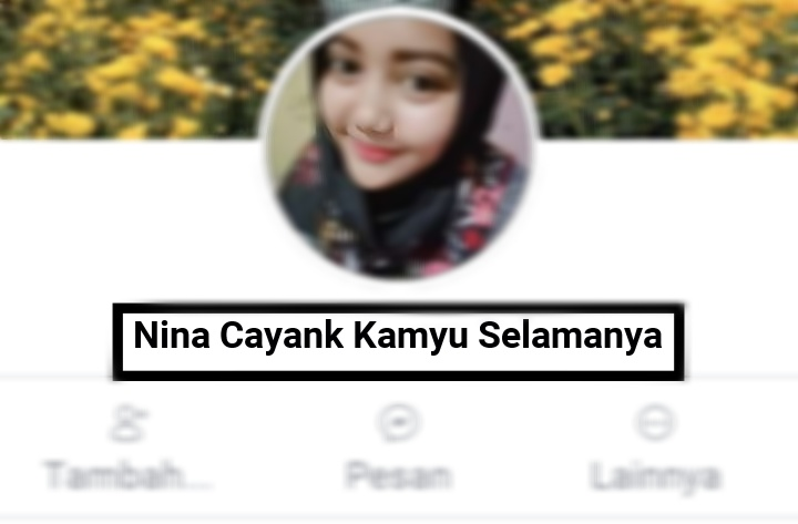 Nama facebook lucu