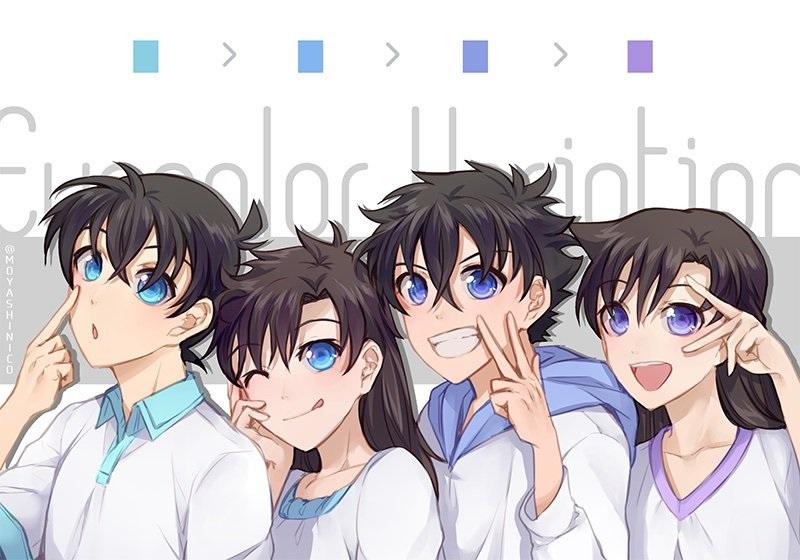 Anime berwajah Mirip dengan Anime Lain