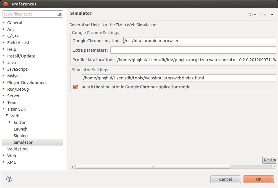 Install Tizen SDK 2 0 ALPHA Step by Step on Ubuntu 12 04