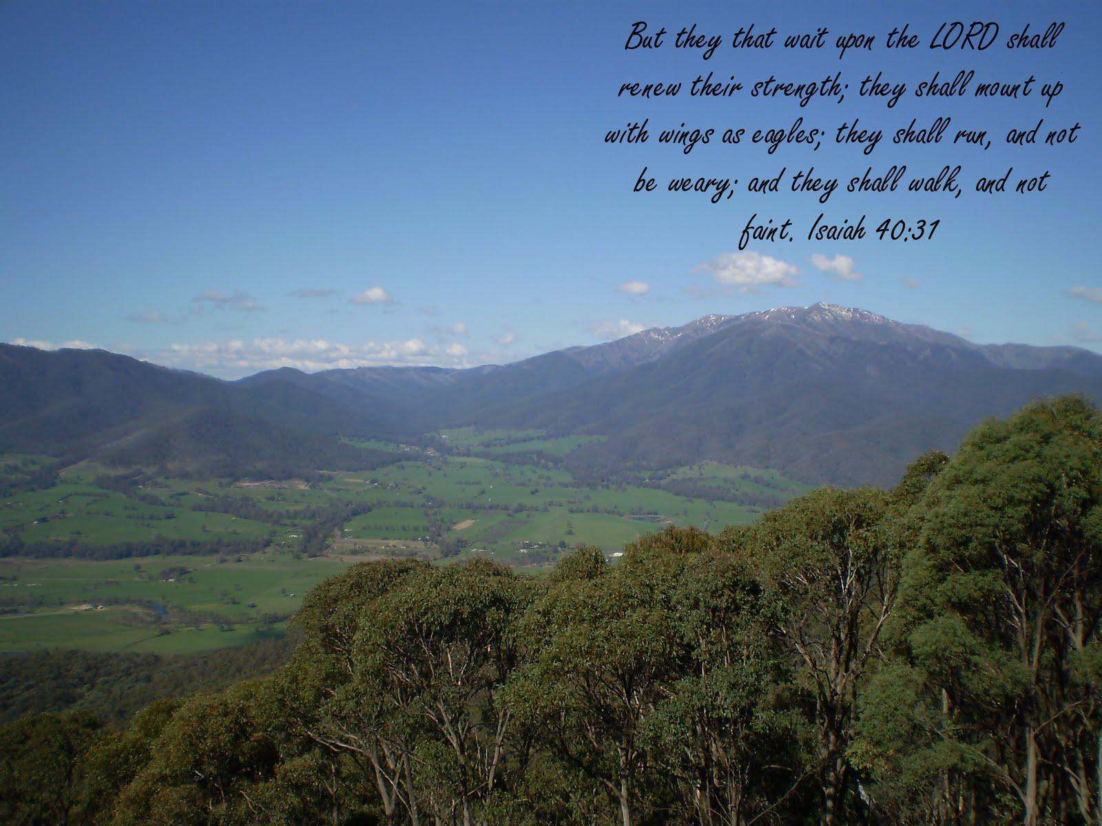 Feel My Love Quotes Wallpaper Kjv Bible Wallpapers Isaiah 40 31