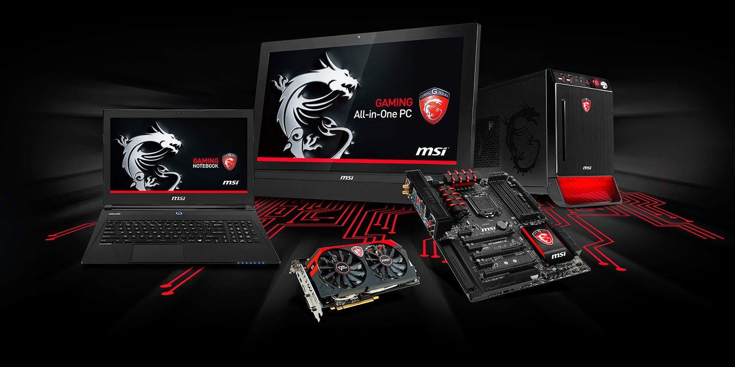 What is Dragon Gaming Center?: MSI GAMING Series lights up COMPUTEX