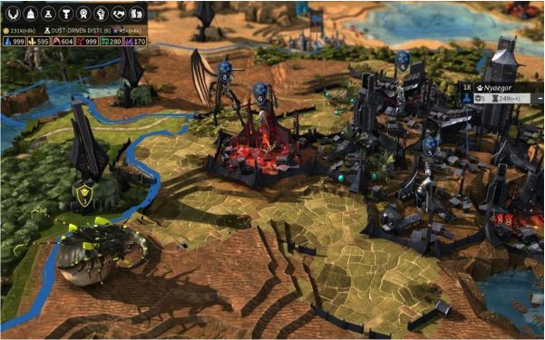Lightweight Online Games for PC Endless Legend