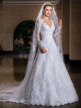 modelos de vestido de noiva e véu - dicas e fotos