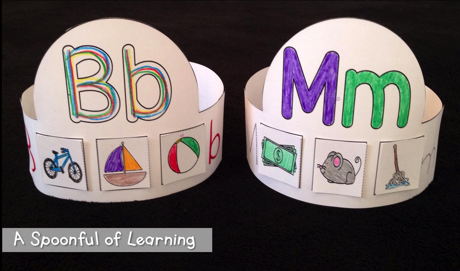 Alphabet Hats!