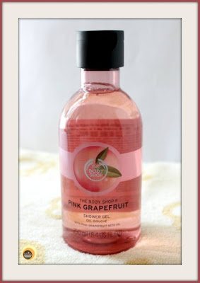 The Body Shop Pink  Grapefruit Shower Gel Review On Natural Beauty And Makeup Blog
