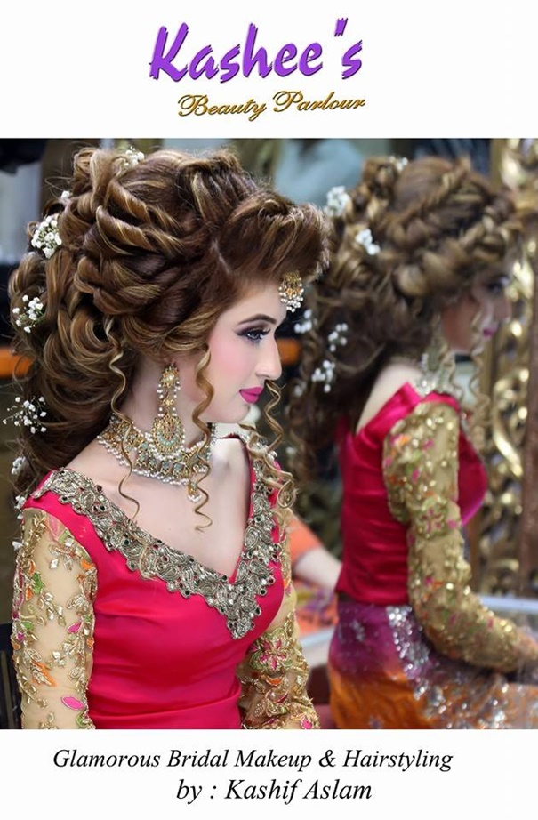 Kashee's New Look Makeup and Hair Styles for Bridal 2017 ...