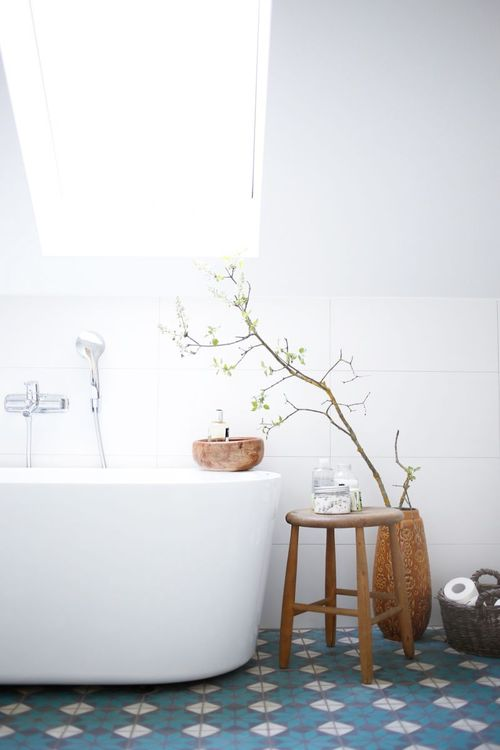 Finally You Can Not Underestimate The Of A Simple Wooden Stool In Adding Rustic Touch To Your Bathroom So Easy Come By On Auction Sites Or
