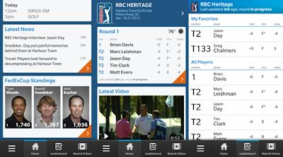 """Si eres un amante del golf, te emocionará saber que PGA Tour ya está disponible para tu BlackBerry Z10. No sólo se trata de una aplicación nativa, También es gratis. Características: Puntuación y tablas de clasificación para todos los eventos de la PGA TOUR, incluidos los """"favoritos"""" para seguir a los jugadores que te interesan en vivo Destacados y otros videos Noticias y Articulos de PGATour FedExCup Busqueda de perfiles y estadisticas Vision general del juego e informacion hoyo por hoyo Twitter feeds de PGA Tour personal y de los jugadores La puedes descargar AQUI Fuente:mundoberry"""